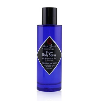 Jack Black All-Over Body Spray with Natural Citrus, Mint & Rosemary  100ml/3.4oz