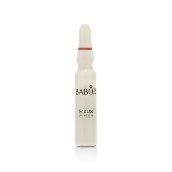 Babor Ampoule Concentrates SOS Matte Finish (Anti-Shine + Even Tone) - For Oily & Combination Skin  7x2ml/0.06oz