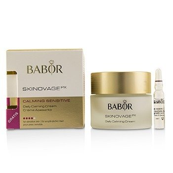 Babor Skinovage PX Calming Sensitive Daily Calming Cream (with Free Collagen Booster Fluid 2ml) - For Sensitive Skin  50ml/1.7oz