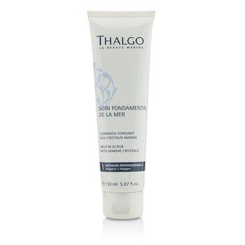 Thalgo Soin Fondamental De La Mer Melt-In Scrub With Marine Crystals (Salon Product)  150ml/5.07oz
