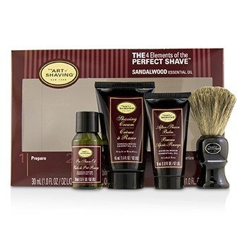 The Art Of Shaving Kit Los 4 Elementos del Afeitado Perfecto Tamaño Mediano - Sandalwood  4pcs