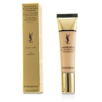 Yves Saint Laurent Touche Eclat All In One Glow Base SPF 23 - # B10 Porcelain  30ml/1oz
