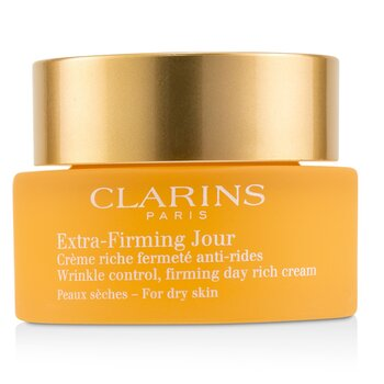 Clarins Extra-Firming Jour Wrinkle Control, Firming Day Rich Cream - For Dry Skin  50ml/1.7oz