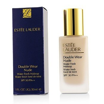Estee Lauder Double Wear Nude Water Fresh Makeup SPF 30 - # 1N0 Porcelain  30ml/1oz