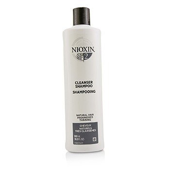 Nioxin Derma Purifying System 2 Cleanser Shampoo (Natural Hair, Progressed Thinning)  500ml/16.9oz