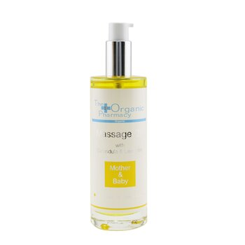The Organic Pharmacy Mother & Baby Massage Oil  100ml/3.3oz