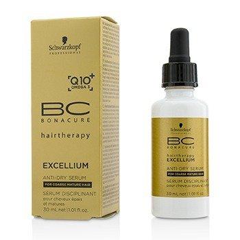 שוורצקופף BC Excellium Q10+ Omega 3 Anti-Dry Serum (For Coarse Mature Hair)  30ml/1.01oz