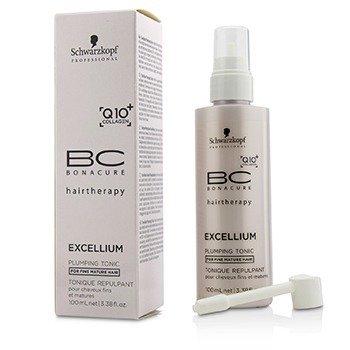 שוורצקופף BC Excellium Q10+ Collagen Plumping Tonic (For Fine Mature Hair)  100ml/3.38oz