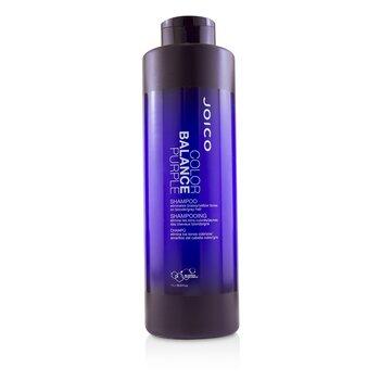 Joico Color Balance Purple Shampoo (Eliminates Brassy/Yellow Tones on Blonde/Gray Hair)  1000ml/33.8oz