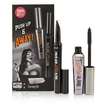 Benefit Set They're Real Push Up & Away  2pcs