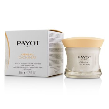 Payot Creme No 2 Cachemire Anti-Redness Anti-Stress Soothing Rich Care  50ml/1.6oz