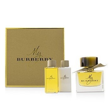 Burberry My Burberry Coffret: Eau De Parfum Spray 90ml/3oz + Body Lotion 75ml/2.6oz + Bathing Gel Gel 75ml/2.6oz  3pcs