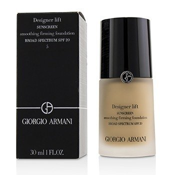 Giorgio Armani Designer Lift Smoothing Firming Foundation SPF20 - # 5 (Exp Date. 08/2018)  30ml/1oz