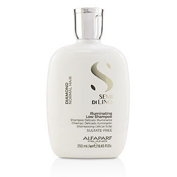 AlfaParf Semi Di Lino Diamond Illuminating Low Shampoo (Normal Hair)  250ml/8.45oz