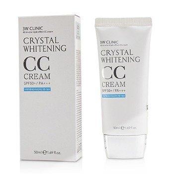 3W Clinic Crystal Whitening CC Cream SPF 50+/PA+++ - #02 Natural Beige  50ml/1.69oz