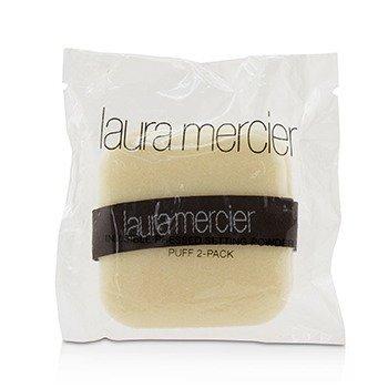 Laura Mercier Invisible Pressed Setting Powder Puff 2 Pack