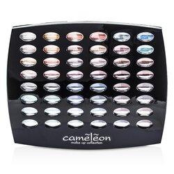 Cameleon Kit de Maquillaje G1665 : 48xSombras de Ojos, 4xRubores, 6xBrillos de Labios, 4xBrochas