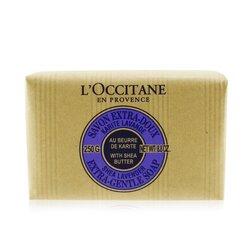 לאוקסיטן סבון עדין של חמאת שיאה-לוונדר.  250g/8.8oz