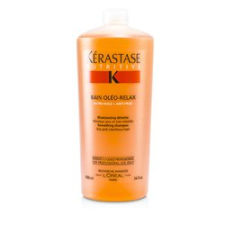 Kerastase Nutritive Bain Oleo-Relax Shampoo ( Dry & Rebellious )  1000ml/34oz