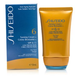 Shiseido Tanning Cream SPF 6 (For Face)  50ml