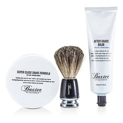 Baxter Of California Shave 1.2.3 Set: Shave Formula + Balm + Brush  3pcs
