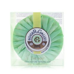 Roger & Gallet Green Tea (The Vert) Perfumed Soap (With Case)  100ml/3.5oz