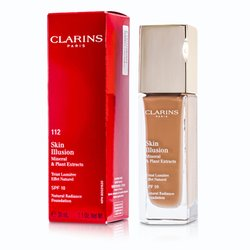 Clarins Skin Illusion Natural Radiance Foundation SPF 10 - # 112 Amber  30ml/1.1oz