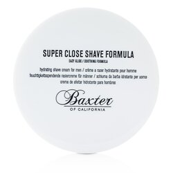 Baxter Of California Super Close Shave Formula (Jar)  240ml/8oz