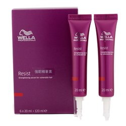 Wella Resist Strengthening Serum (For Vulnerable Hair)  6x20ml/0.67oz