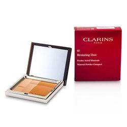 Clarins Bronzing Duo Mineral Powder Compact SPF 15 - 02 Medium  10g/0.35oz