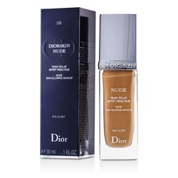 Christian Dior Diorskin Nude Skin Glowing Makeup SPF 15 Alas Bedak - # 030 Medium Beige  30ml/1oz