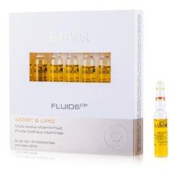 Babor Fluids FP سائل الفيتامين النشط (ترطيب ودهون، للبشرة الجافة)  7x2ml/0.07oz