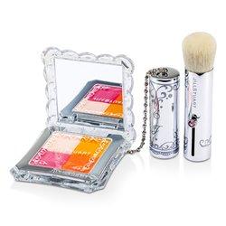 Jill Stuart Mix Blush Compact N (4 Color Blush Compact + Brush) - # 04 Candy Orange  8g/0.28oz