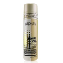 Redken Tratamento Diário Blonde Idol Custom-Tone Adjustable Color-Depositing (Cabelos Loiros Dourados)  196ml/6.6oz