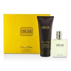 Oscar De La Renta Oscar Coffret: Eau De Toilette Spray 100ml/3.4oz + Hair & Body Wash Gel 200ml/6.7oz  2pcs