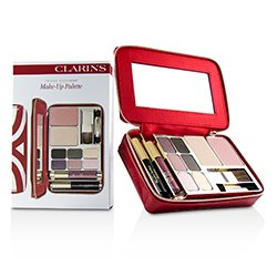 Clarins Make Up Vanity Palette: 1xPowder Compact + 1xBlush + 6xEye Shadows + 1xMini Mascara + 1xMini Lip Glo
