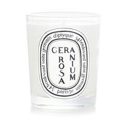 Diptyque Lumânare Parfumată - Geranium Rosa (Trandafir Geranium)  190g/6.5oz