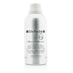 Ella Bache น้ำมัน Face-Body-Scalp Massage Oil (ผลิตภัณฑ์ร้านเสริมสวย)  600ml/20.3oz