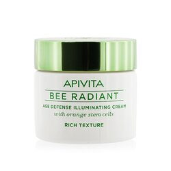 Apivita Bee Radiant Age Defense Illuminating Cream - Rich Texture  50ml/1.76oz