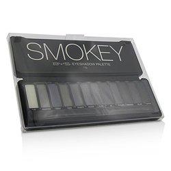 BYS Eyeshadow Palette (12x Eyeshadow, 2x Applicator) - Smokey  12g/0.42oz