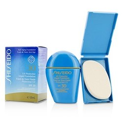 Shiseido Base Líquida Protectora UV - # SP60 Medium Beige  30ml/1oz