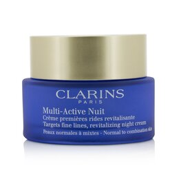 Clarins Multi-Active Night Targets Fine Lines Revitalizing Night Cream - For Normal To Combination Skin  50ml/1.6oz