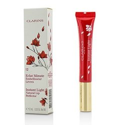 Clarins Eclat Minute Instant Light Natural Lip Perfector - # 12 Red Shimmer  12ml/0.35oz