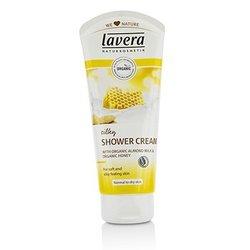 Lavera Organic Almond Milk & Honey Silky Shower Cream - Normal to Dry Skin  200ml/6.6oz