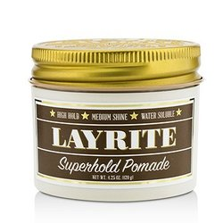 Layrite مرهم Superhold (ثبات عالي، لمعان متوسط، ذواب في الماء)  120g/4.25oz