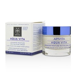Apivita Aqua Vita Advanced Moisture Revitalizing Cream - For Very Dry Skin  50ml/1.76oz