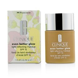 Clinique Even Better Glow Light Reflecting Makeup SPF 15 - # WN 76 Toasted Wheat  30ml/1oz