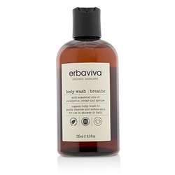 Erbaviva Breathe Body Wash  235ml/8oz