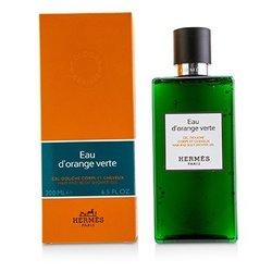 Hermes D'Orange Verte Hair And Body Shower Gel  200ml/6.5oz