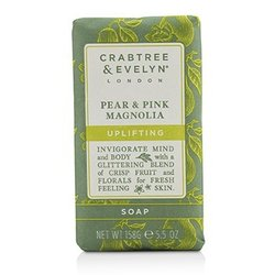 Crabtree & Evelyn Pear & Pink Magnolia Uplifting Soap  158g/5.5oz